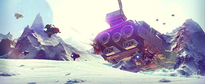E3 2015 - No Man`s Sky verá la luz este año en PC y Playstation 4