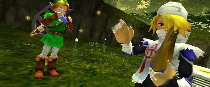 Fijar un objetivo en Ocarina of Time no me va