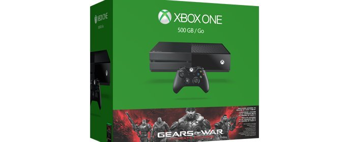 Xbox One tendrá un pack con Gears of War Ultimate Edition