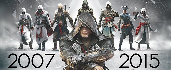 Quiero un recopilatorio de Assassin`s Creed