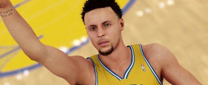 Stephen Curry mejora su puntuación en NBA 2K16