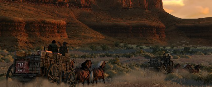 Lugares vol. 6: Los desiertos de Red Dead Redemption