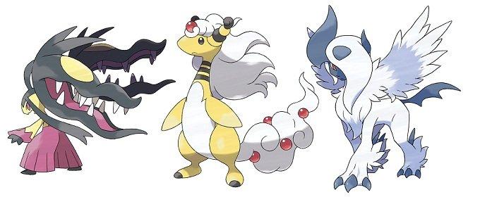 Tráiler de las nuevas Mega Evoluciones de Pokémon X / Y