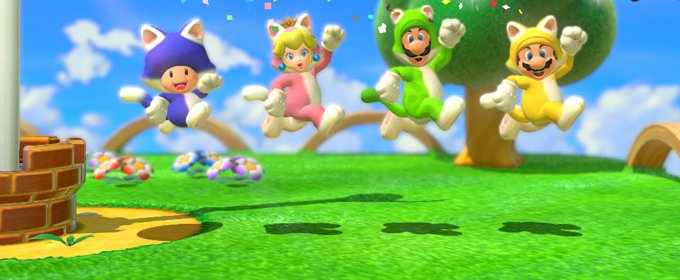 Super Mario 3D World apuesta por el optimismo